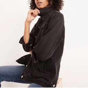 NEW Madewell Oversized denim jacket